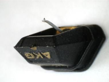 AKG Wiederherstellung mit Shibata Diamant Nadel und Alu Cantilever